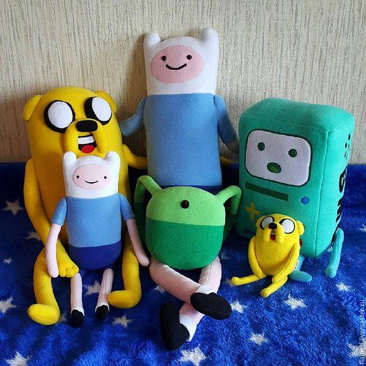 Сказочные персонажи ручной работы. Ярмарка Мастеров - ручная работа. Купить Adventure Time Финн (Finn) 1 метр. Handmade.