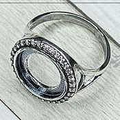 Материалы для творчества handmade. Livemaster - original item The base for the ring