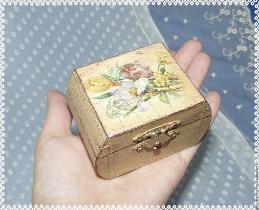 Шкатулки ручной работы. Ярмарка Мастеров - ручная работа. Купить Шкатулка-малютка. Handmade. Шкатулка, маленькая шкатулка, дерево