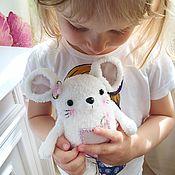 """Мягкие игрушки ручной работы. Ярмарка Мастеров - ручная работа Мышка """"Рита"""". Handmade."""