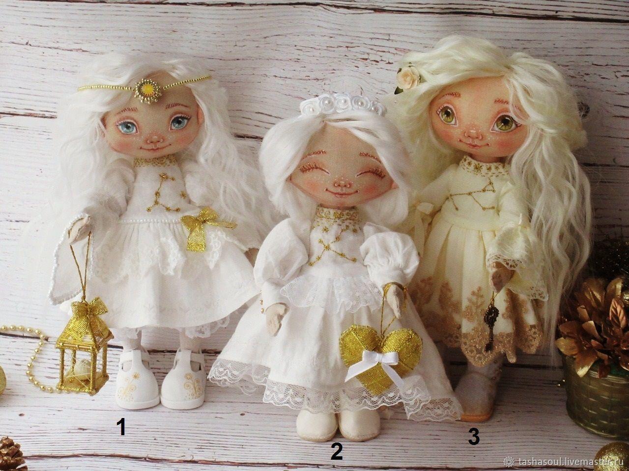 Текстильные куклы Звездные Ангелы-сестренки, Куклы и пупсы, Балахна,  Фото №1