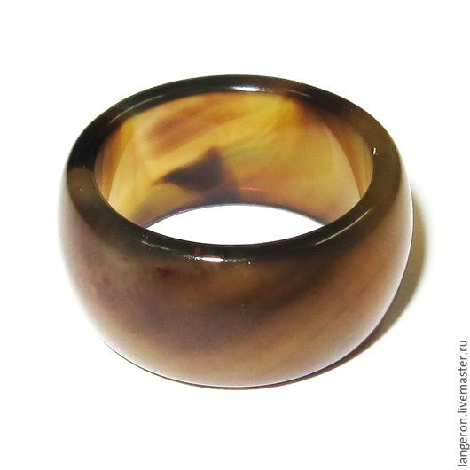 Кольца ручной работы. Ярмарка Мастеров - ручная работа. Купить Кольцо из натурального агата.. Handmade. Кольцо, кольцо из агата