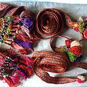 Пояса, очелья, тесемки ручной работы. Ярмарка Мастеров - ручная работа Пояса, очелья, тесемки: Пояся. Handmade.