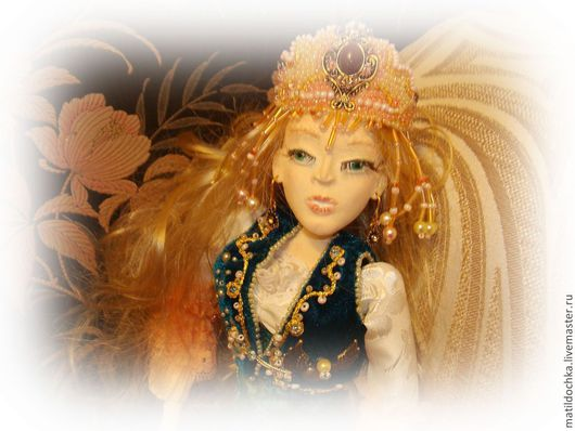 Коллекционные куклы ручной работы. Ярмарка Мастеров - ручная работа. Купить Кукла Все люди как люди, а я -Королева. Handmade.