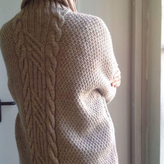 Кофты и свитера ручной работы. Ярмарка Мастеров - ручная работа. Купить Свитер в стиле оверсайс. Handmade. Свитер, оверсайз, мягкий