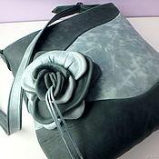 Сумки и аксессуары handmade. Livemaster - original item Special price! Leather bag Surf of the Sea rose. Handmade.