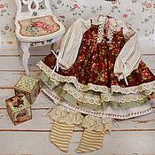 Куклы и игрушки handmade. Livemaster - original item Clothes for dolls. Clothing, boho, shabby chic. Handmade.
