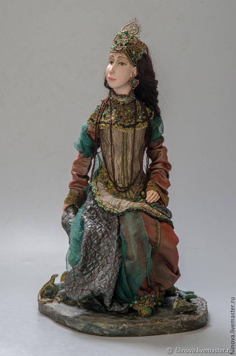 Хозяйка Медной горы, Интерьерная кукла, Москва,  Фото №1