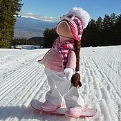 Куклы и игрушки ручной работы. Ярмарка Мастеров - ручная работа Марта - девочка с Альп. Handmade.