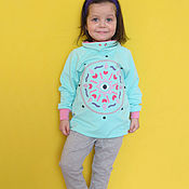 """Работы для детей, ручной работы. Ярмарка Мастеров - ручная работа """"Всевидящее око"""". Одежда для девочки. Handmade."""
