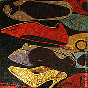 Картины и панно ручной работы. Ярмарка Мастеров - ручная работа Туфли (копия работы Энди Уорхолла). Handmade.