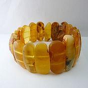 Украшения handmade. Livemaster - original item Bracelet made of amber