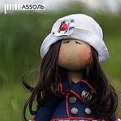 Куклы и игрушки ручной работы. Ярмарка Мастеров - ручная работа куколка Assoль. Handmade.