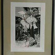 """Картины и панно ручной работы. Ярмарка Мастеров - ручная работа Картина""""Императрица"""". Handmade."""