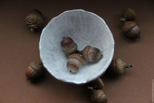Пиалы ручной работы. Ярмарка Мастеров - ручная работа. Купить Пиала Три Орешка для.... Handmade. Белый, белая пиала, золушка