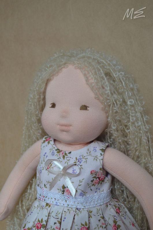 Вальдорфская игрушка ручной работы. Ярмарка Мастеров - ручная работа. Купить Вальдорфская кукла, 40 см. Handmade. Вальдорфская кукла