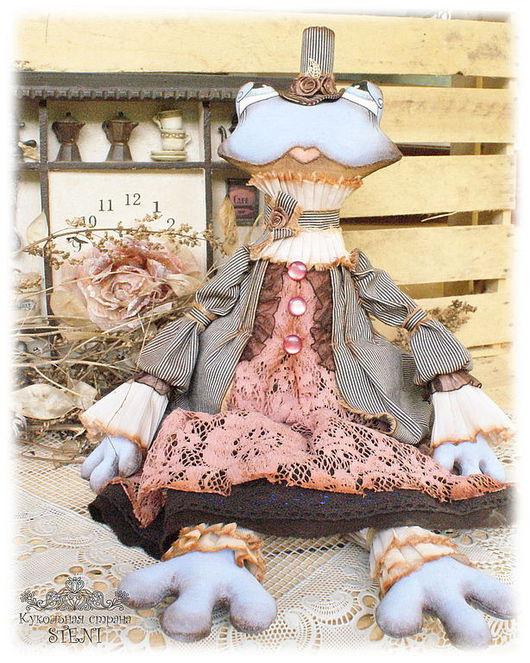"""Коллекционные куклы ручной работы. Ярмарка Мастеров - ручная работа. Купить Текстильная авторская кукла """"Лягушка Леди Ква"""". Handmade."""