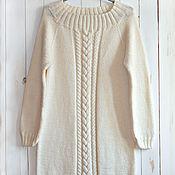 Одежда ручной работы. Ярмарка Мастеров - ручная работа Удлиненный свитер. Handmade.