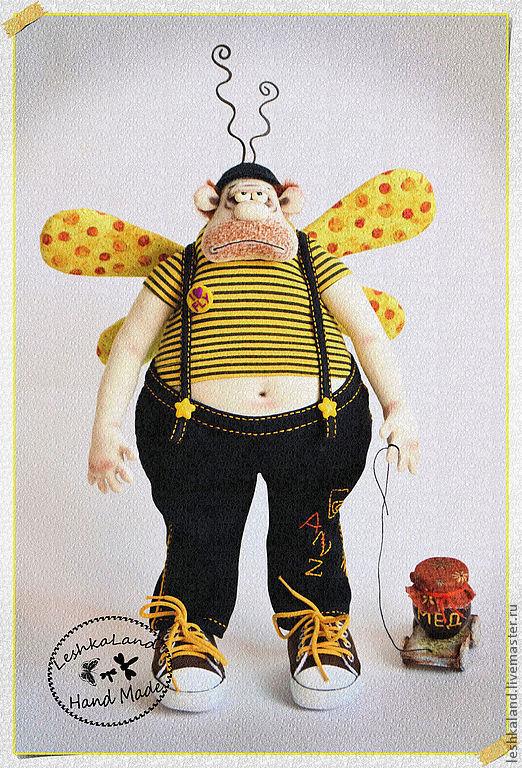 Коллекционные куклы ручной работы. Ярмарка Мастеров - ручная работа. Купить Почему не я....?! (((. Handmade. Желтый, авторская игрушка