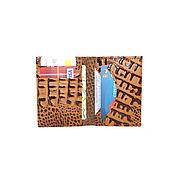 Сумки и аксессуары handmade. Livemaster - original item Cardholders of genuine leather. Handmade.
