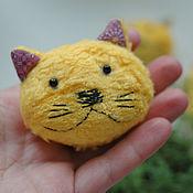 Украшения ручной работы. Ярмарка Мастеров - ручная работа броши котики. Handmade.