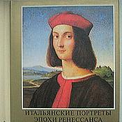 Винтаж handmade. Livemaster - original item Italian portraits of the Renaissance, album, vintage. Handmade.