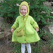 """Работы для детей, ручной работы. Ярмарка Мастеров - ручная работа Вязаное пальто """"Вероничка"""". Handmade."""