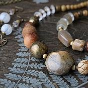 Украшения handmade. Livemaster - original item Jewelry sets: with chalcedony