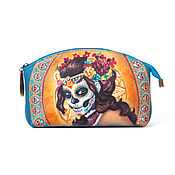 "Сумки и аксессуары handmade. Livemaster - original item Cosmetic bag ""Dead bride"". Handmade."