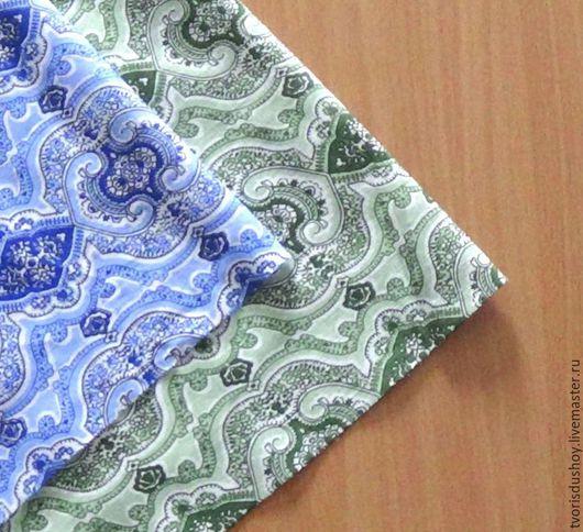 Шитье ручной работы. Ярмарка Мастеров - ручная работа. Купить Набор тканей из хлопка 2 отреза(7). Handmade. Хлопок