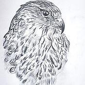 Картины и панно ручной работы. Ярмарка Мастеров - ручная работа Горная птица. Handmade.