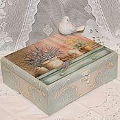 Для дома и интерьера ручной работы. Ярмарка Мастеров - ручная работа Шкатулка Там, где цветет вереск.... Handmade.
