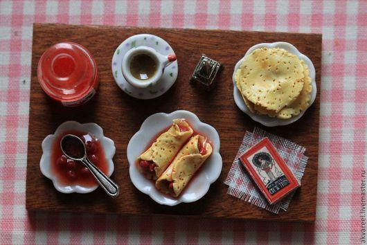 Еда ручной работы. Ярмарка Мастеров - ручная работа. Купить Блины с ... (серия Книга рецептов). Handmade. Еда, авторская работа