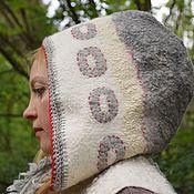 """Одежда ручной работы. Ярмарка Мастеров - ручная работа Жилет с капюшоном """"Туман"""". Handmade."""