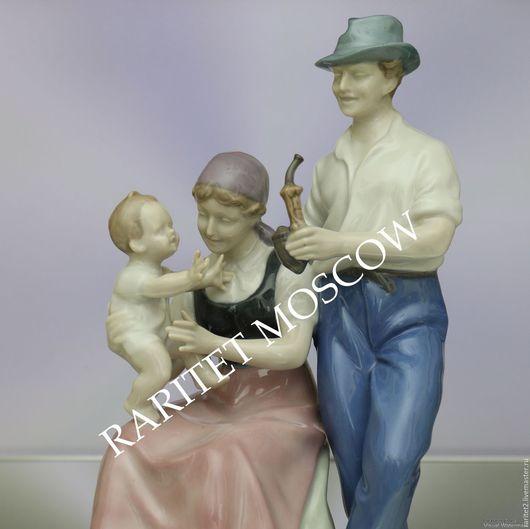 Винтажные предметы интерьера. Ярмарка Мастеров - ручная работа. Купить Материнство мама ребенок пара семья Германия 1. Handmade.