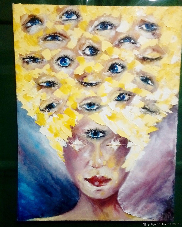 Глаза, Картины, Нур-Султан,  Фото №1