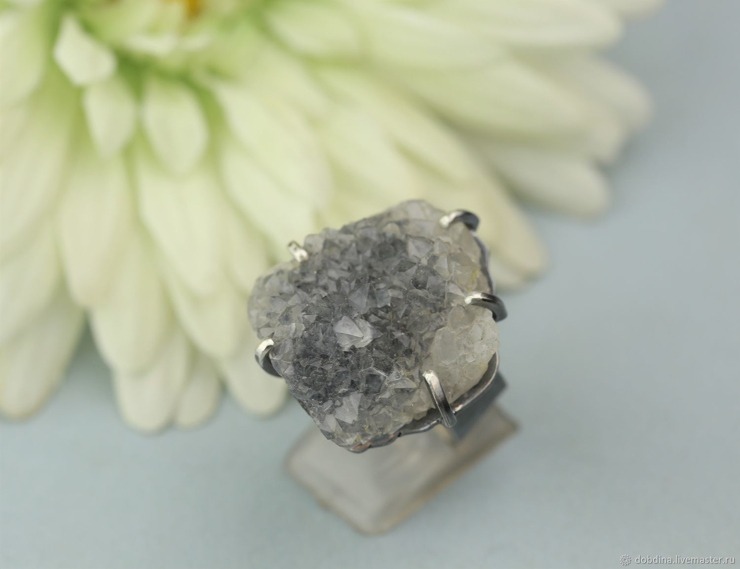 Ring with quartz. Silver, Rings, Moscow,  Фото №1