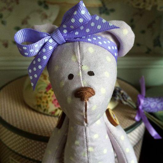 Куклы Тильды ручной работы. Ярмарка Мастеров - ручная работа. Купить Лавандовый мишка (девочка). Handmade. Лаванда, лавандовый цвет