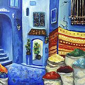 Pictures handmade. Livemaster - original item Morocco oil Painting 50h60 cm. Handmade.