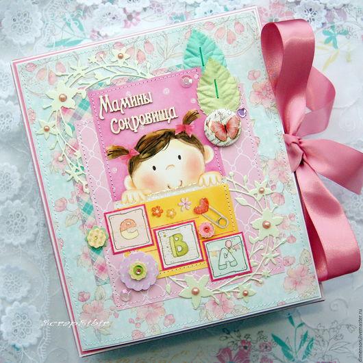 Подарки для новорожденных, ручной работы. Ярмарка Мастеров - ручная работа. Купить Мамины сокровища для Евы № 69. Handmade.