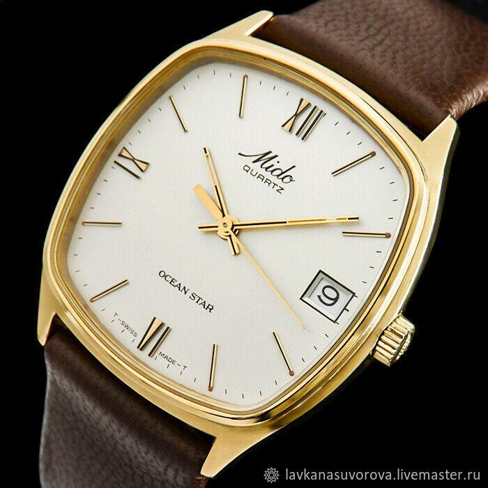 MIDO men's watch Switzerland, Vintage watches, Rostov-on-Don,  Фото №1