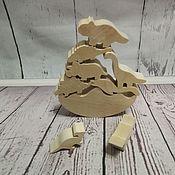 Мягкие игрушки ручной работы. Ярмарка Мастеров - ручная работа Балансир динозаврики. Handmade.