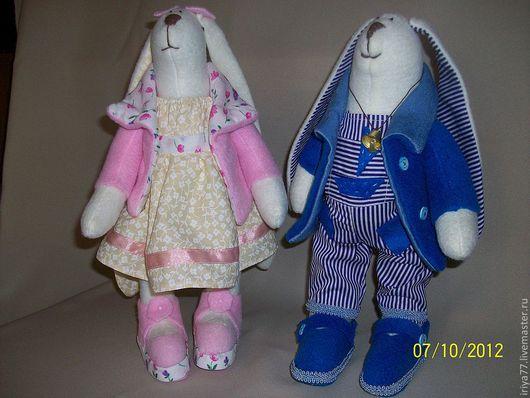 """Куклы Тильды ручной работы. Ярмарка Мастеров - ручная работа. Купить Зайка по мотивам """"Тильда"""". Handmade. Тильда, интерьерная кукла"""