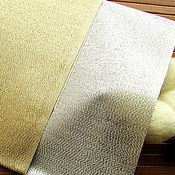 Материалы для творчества handmade. Livemaster - original item Hagoromo Shah gold and silver. Japanese fabric for citadele. Handmade.