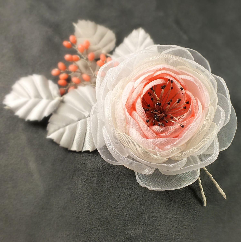 Как сделать цветок-брошь своими руками - Домашний 70