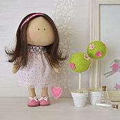 """Куклы и игрушки ручной работы. Ярмарка Мастеров - ручная работа текстильная куколка-малышка """"LOVE SUGAR"""". Handmade."""