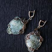 Украшения handmade. Livemaster - original item Luxury beryl earrings. Handmade.