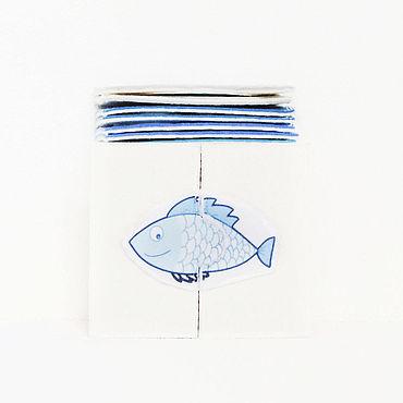 Куклы и игрушки ручной работы. Ярмарка Мастеров - ручная работа Puzzle для самых маленьких. Рыбы. Handmade.