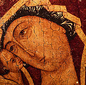 Картины и панно ручной работы. Ярмарка Мастеров - ручная работа Икона Божией матери Игоревская. Handmade.