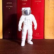 Модели ручной работы. Ярмарка Мастеров - ручная работа Астронавт Apollo 10 см (Серебро). Handmade.